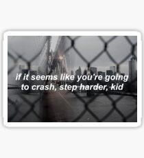 BTS Intro: Nevermind Lyrics Sticker