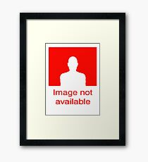Image Not available: Red Framed Print