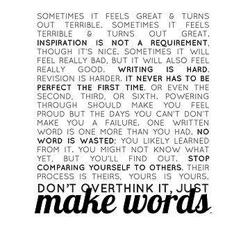 make words (writers) by courtnival