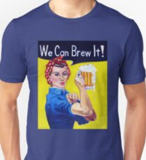 We Can Brew It! Rosie the Riveter Unisex T-Shirt