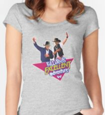 Westworld Bill and Ted Women's Fitted Scoop T-Shirt