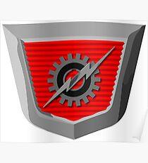 Classic Ford Emblem Poster