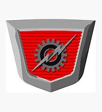 Classic Ford Emblem Photographic Print