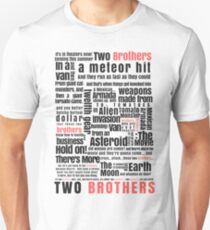 Two Brothers - Rick and Morty T-Shirt