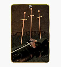 Four of Swords Photographic Print