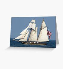 Pride of Baltimore II Greeting Card
