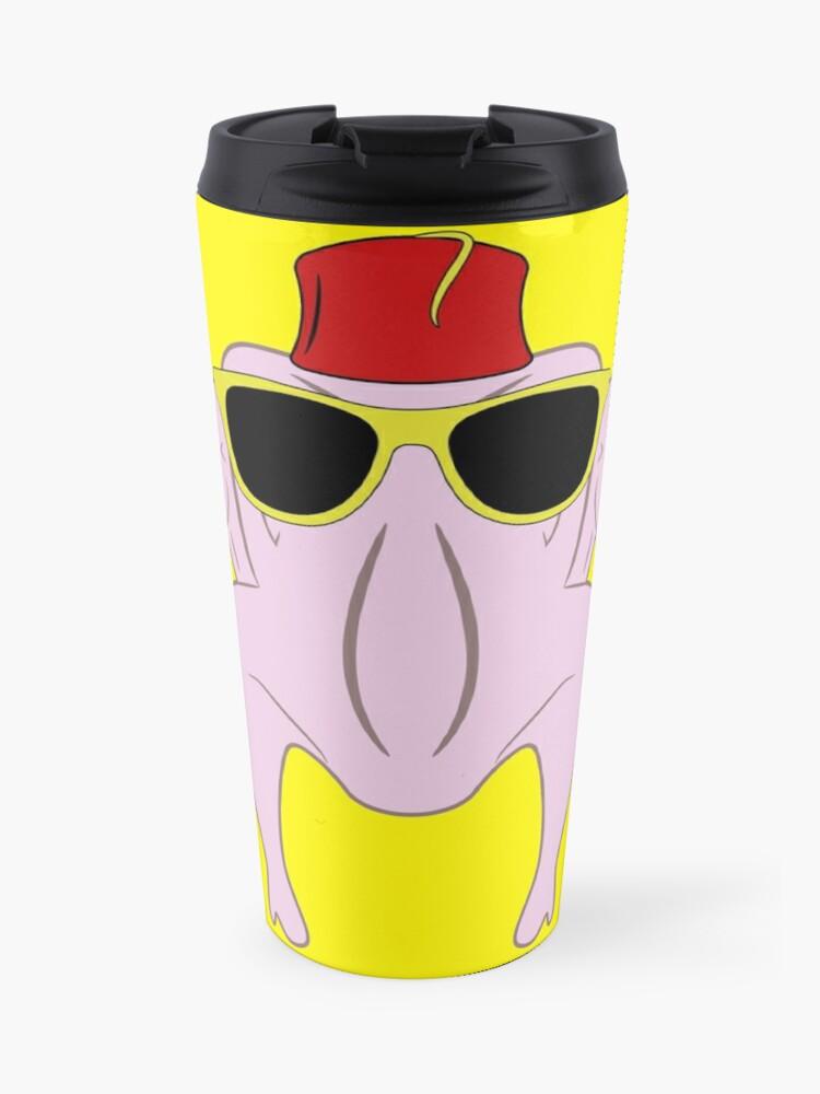 Turkey wearing sunglasses and a fez | Travel Mug