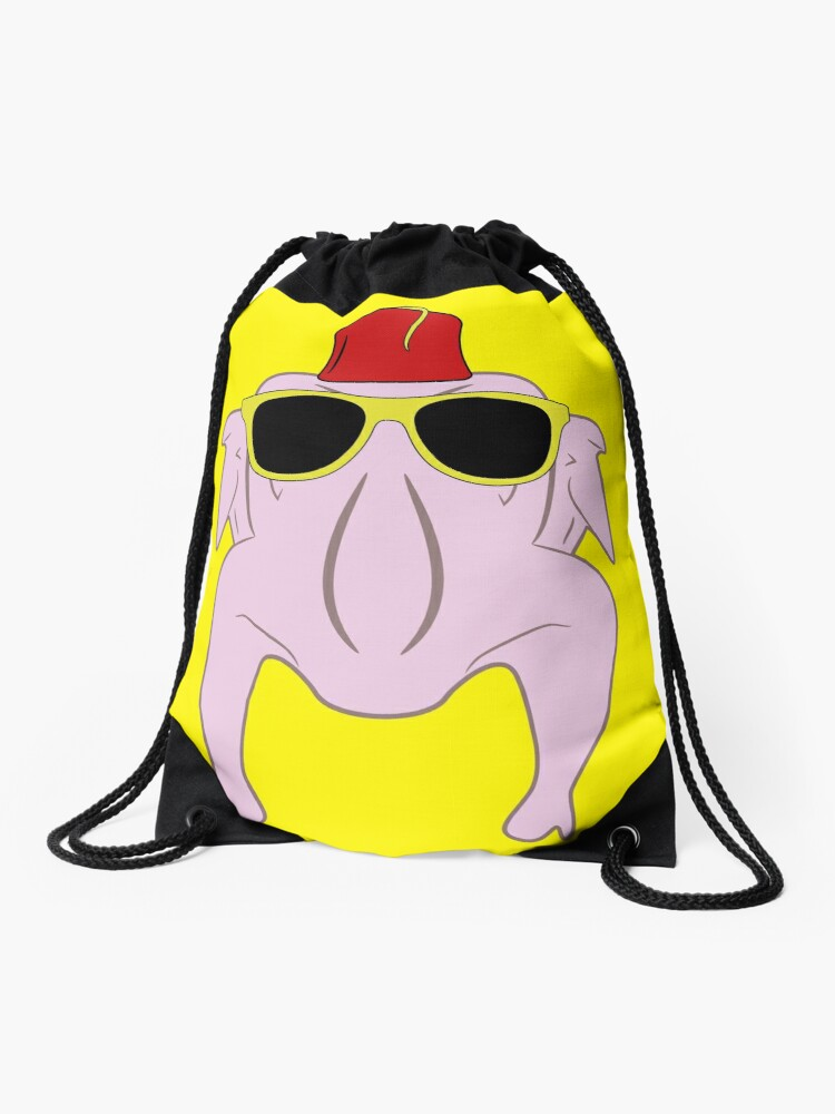Turkey wearing sunglasses and a fez | Drawstring Bag