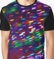 Christmas Light Abstraction no. 7 Graphic T-Shirt