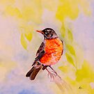 Little Robin Red Breast by Ria Spencer