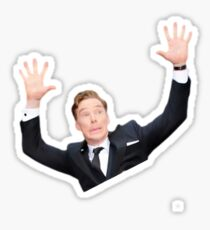 Benedict Cumberbatch at the oscars Sticker