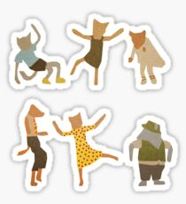 Let Her Dance Sticker
