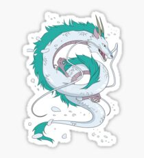 Spirited Away Haku Sticker
