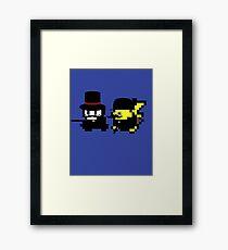Pokemon Gentlemen Framed Print