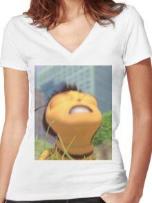 Honey NUT Cheerios, Barry Benson - Bee Movie Meme Women's Fitted V-Neck T-Shirt