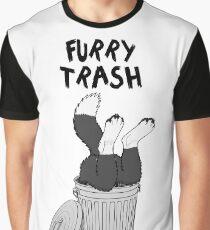 Furry Trash - Border Collie Graphic T-Shirt