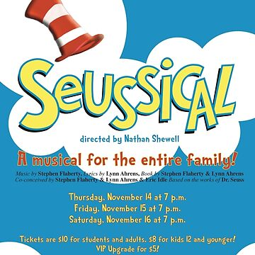 North Central Theatre presents SEUSSICAL by nctheatre
