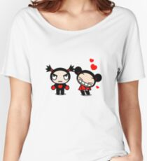 Pucca and Garu Funny Love! Women's Relaxed Fit T-Shirt