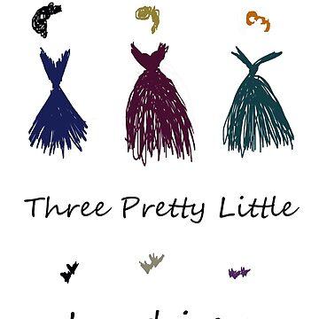 Three Pretty Little Ladies  by AleRamos