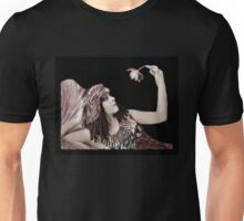 Theda Bara Cleopatra with Flower Unisex T-Shirt