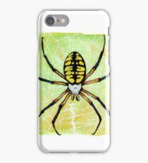 Yellow Garden Spider iPhone Case/Skin