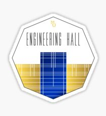 Engineering Hall - Marquette University Sticker