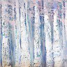 Blue Birches by Anivad - Davina Nicholas