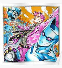 yoshikage kira did nothing wrong Poster