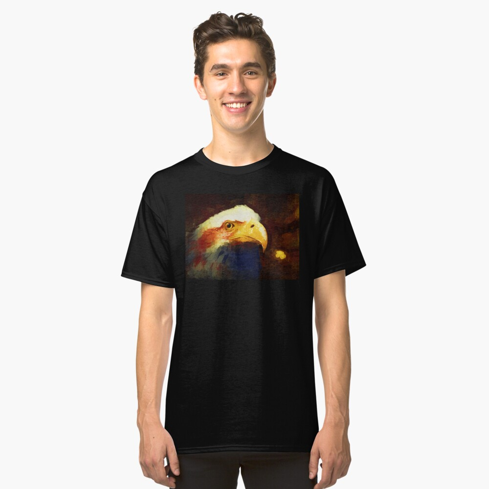 Land of the Free, Home of the Brave Classic T-Shirt Front