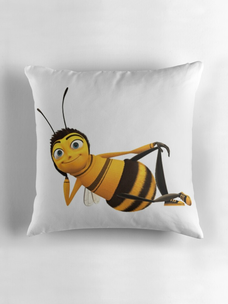 Quot Barry B Benson From The Bee Movie Quot Throw Pillows By