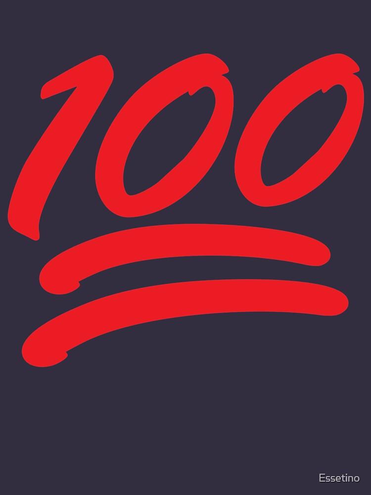 453174d3 Emoticons Emoji Shirt: Keep it 100 Emoji Shirt