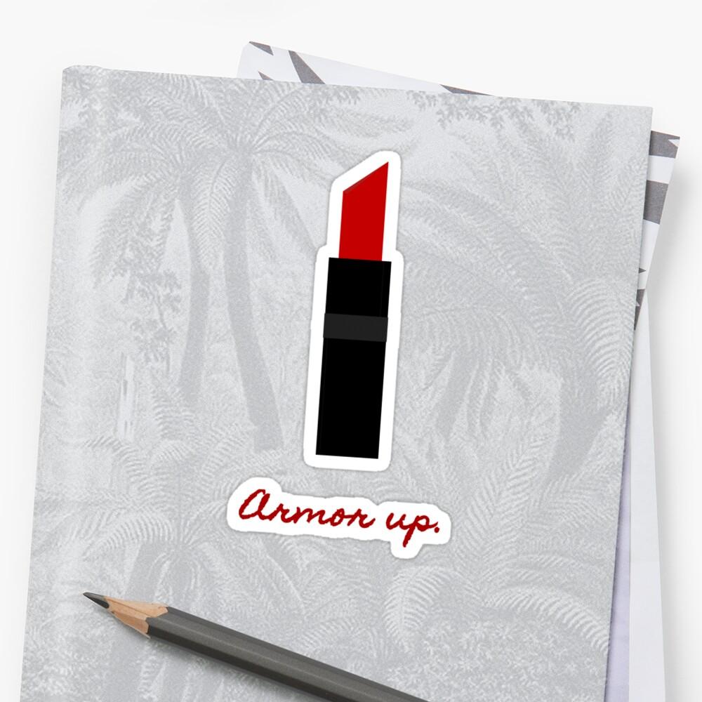 Armor Up (Romy's Red Lipstick v2) by courtnival