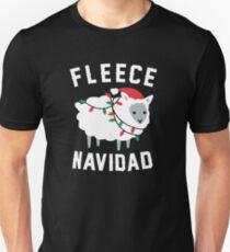 Fleece Navidad Funny Christmas Unisex T-Shirt