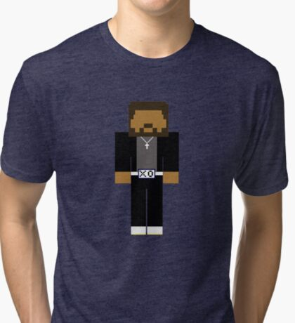 The Weeknd - Minecraft Tri-blend T-Shirt