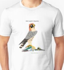 Red-naped Shaheen caricature Unisex T-Shirt