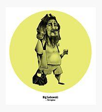 Big Lebowski Photographic Print