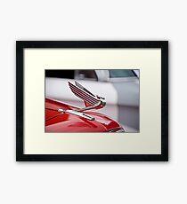 1935 Chevrolet Hood Ornament Framed Print