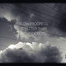 Slow Progress by kishART
