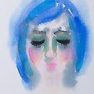 Blue Girl by Liisa Aholainen