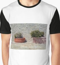 Cacti in flower pots Graphic T-Shirt