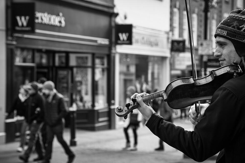 Street Music by Ellesscee