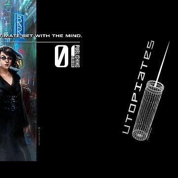"Utopiates ""Injector"" Mug by 01Publishing"