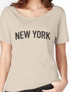 Classic New York Tee Women's Relaxed Fit T-Shirt