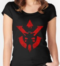 Vegeta Royal Saiyan Symbol Women's Fitted Scoop T-Shirt