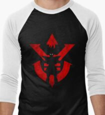 Vegeta Royal Saiyan Symbol Men's Baseball ¾ T-Shirt