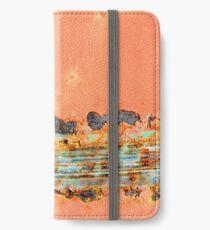 SWOOSH - Macro Photography iPhone Wallet/Case/Skin