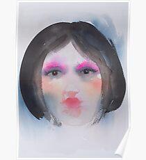 Matryoshka with Pink Poster