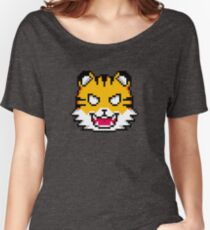 Pixel Tiger Women's Relaxed Fit T-Shirt