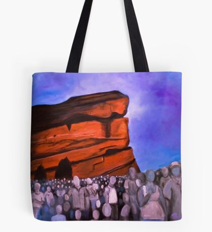 A Show at Red Rocks Tote Bag