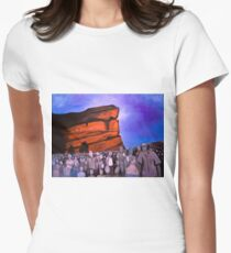 A Show at Red Rocks Women's Fitted T-Shirt